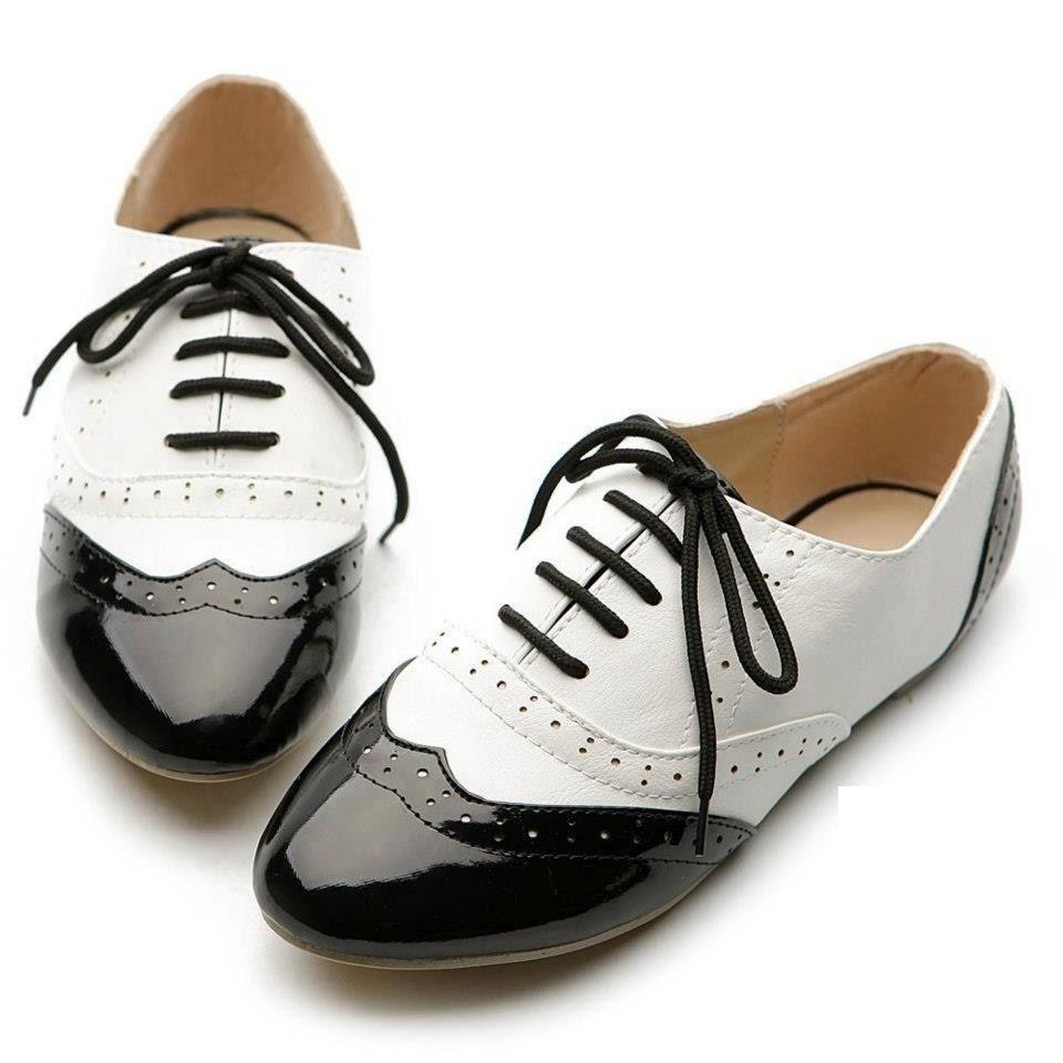 e87c11422cf zapatos oxford mujer blanco y negro - Buscar con Google