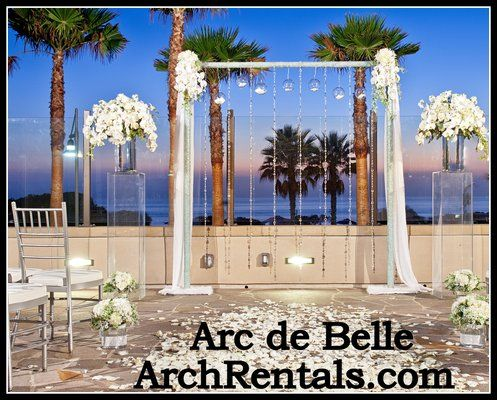 Modern Wedding Arch Altar And Column Rentals In Los
