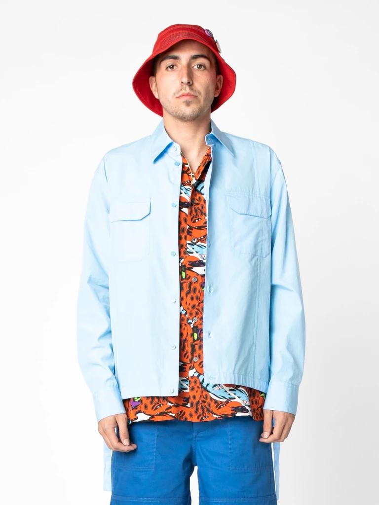 Buy Union Company Union X Marni Cotton Workwear Shirt Online At Union Los Angeles Workwear Shirts Work Wear Fashion