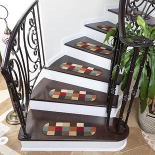 Best Tucker Murphy Pet Beaupre Bluestone Leaf Stair Tread 400 x 300