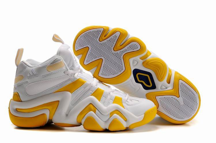 Adidas Basketball Shoes Gold And White