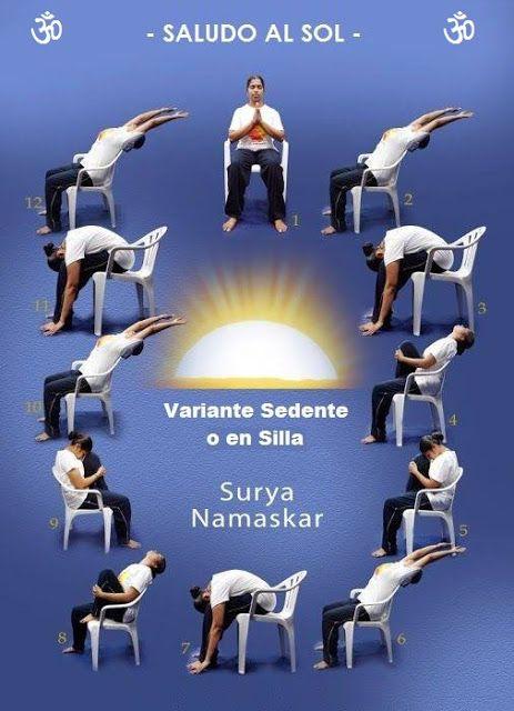 Hacer El Saludo Practico Sol Yo Yoga¿cómo Silla Al En Surya shtQrxdCB