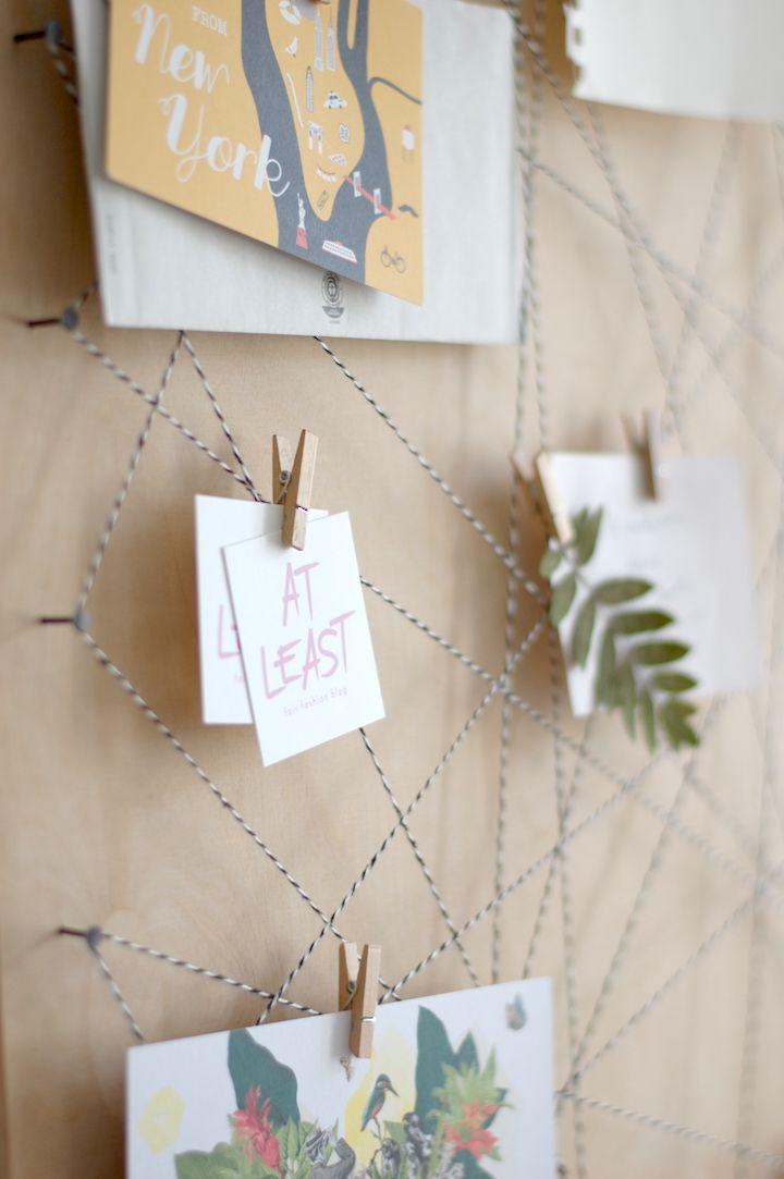 Memoboard Selber Machen pinnwand selbst machen memoboard diy basteln