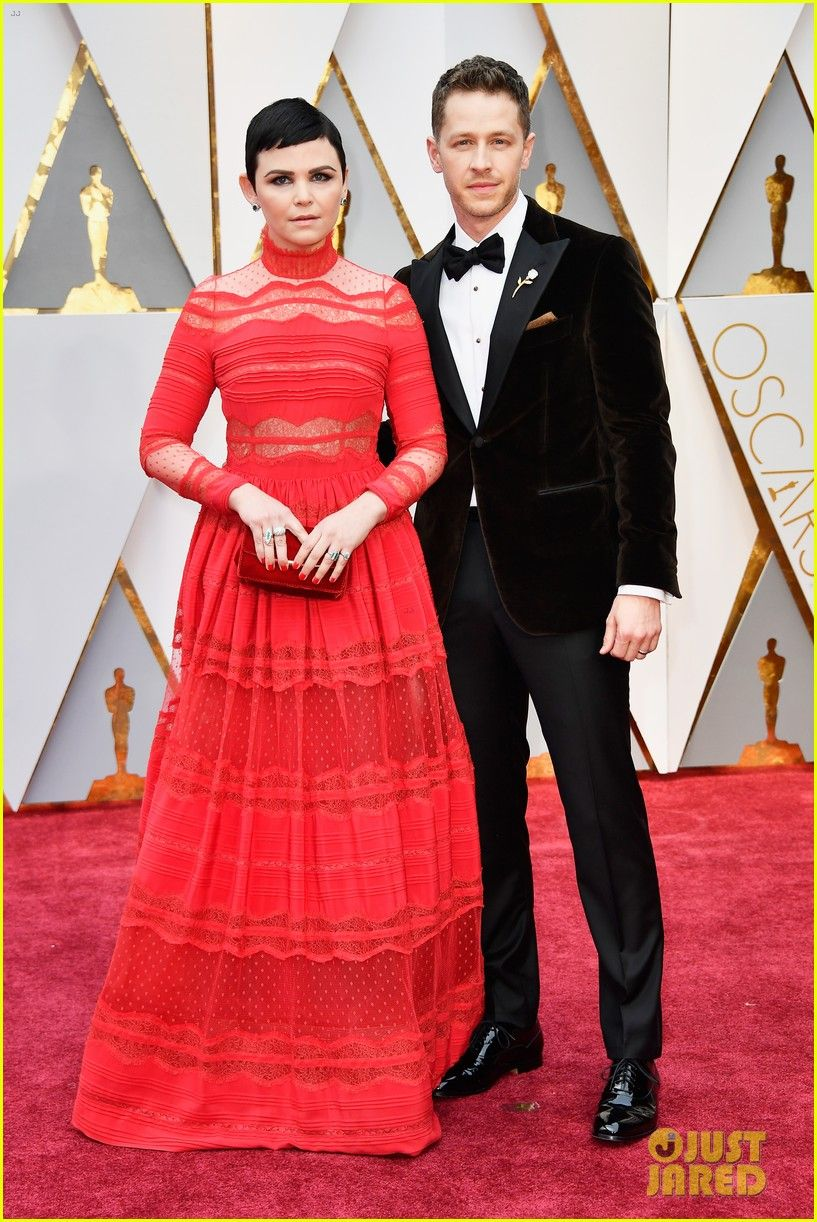 Ginnifer Goodwin Josh Dallas Are One Hot Couple At Oscars 2017 Red Carpet Couples Red Carpet Fashion Celebrity Red Carpet