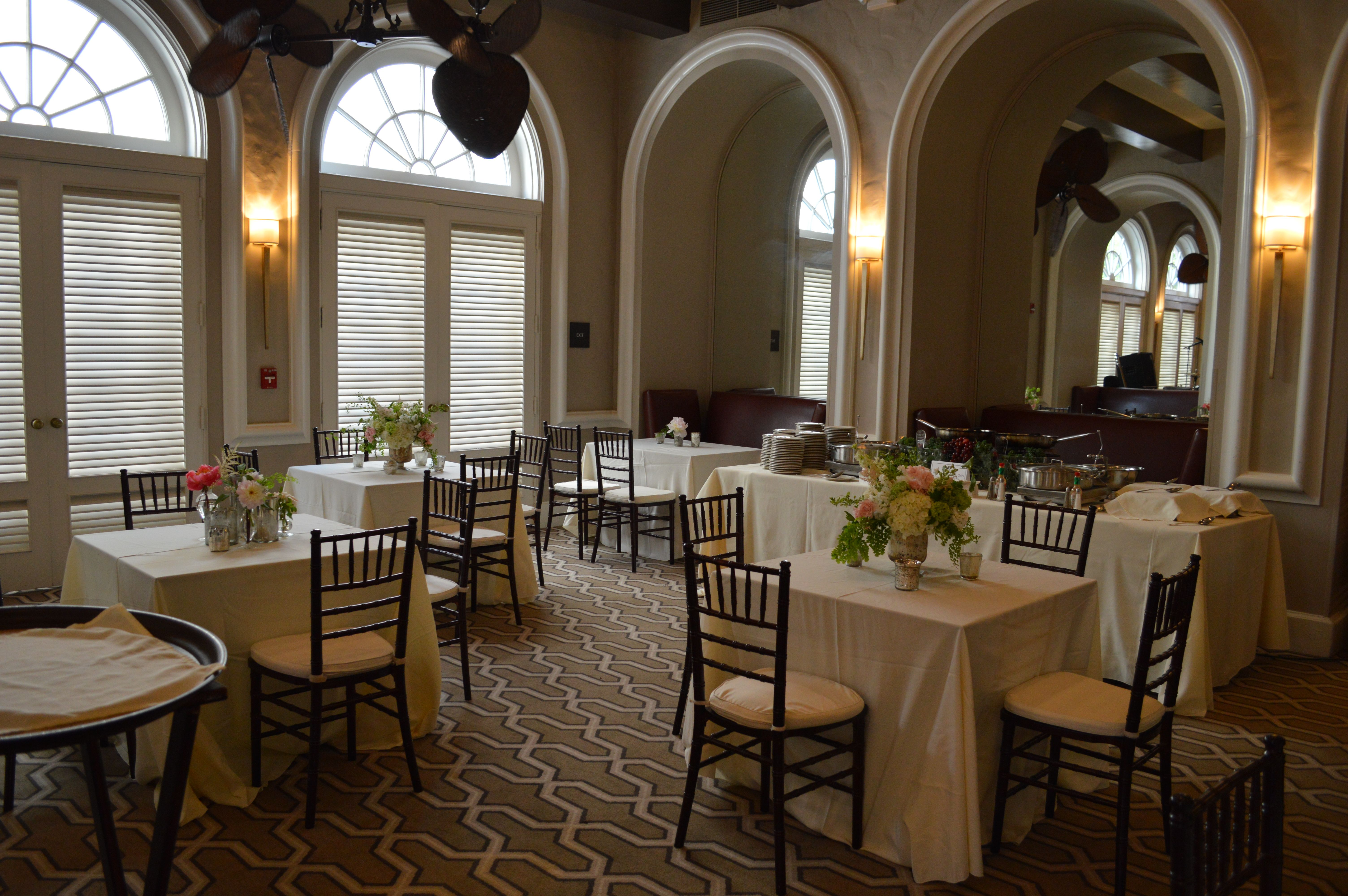The Mills House Barbadoes Room Wedding Event