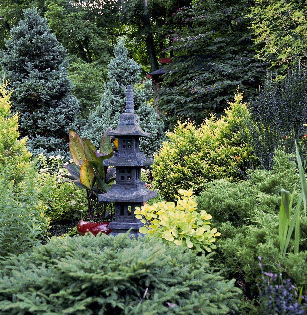 Jewel Tones in the Garden Japanese garden design