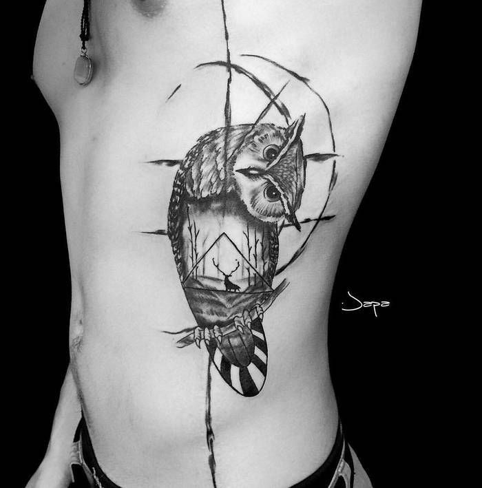 Owl Tattoo Design Ideas For 2019 - Page 8 of 20 » Image ...