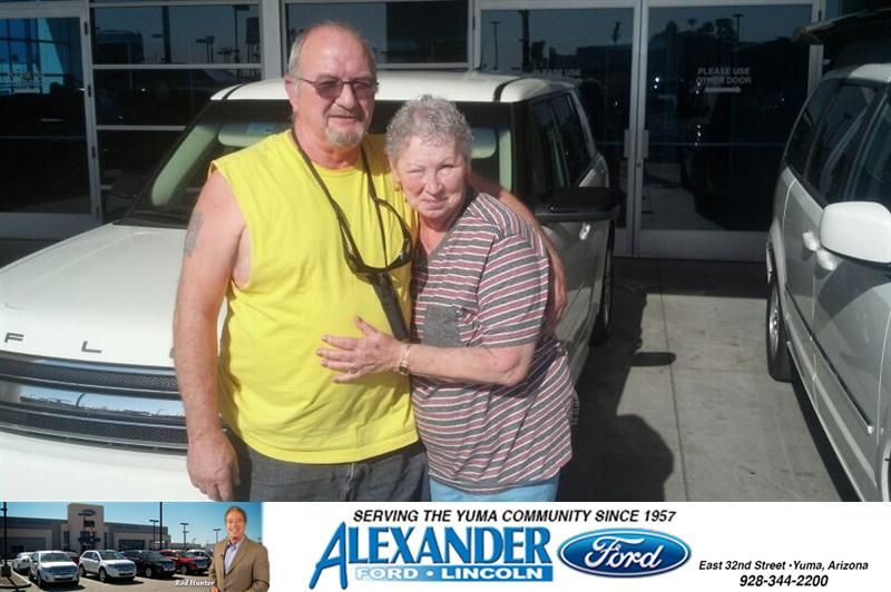 Congratulations To Terry Kuhnau On Your Ford Flex Purchase From Mark Johnson At Bill Alexander Ford Lincoln Newcarsmell Ford Mark Johnson New Car Smell