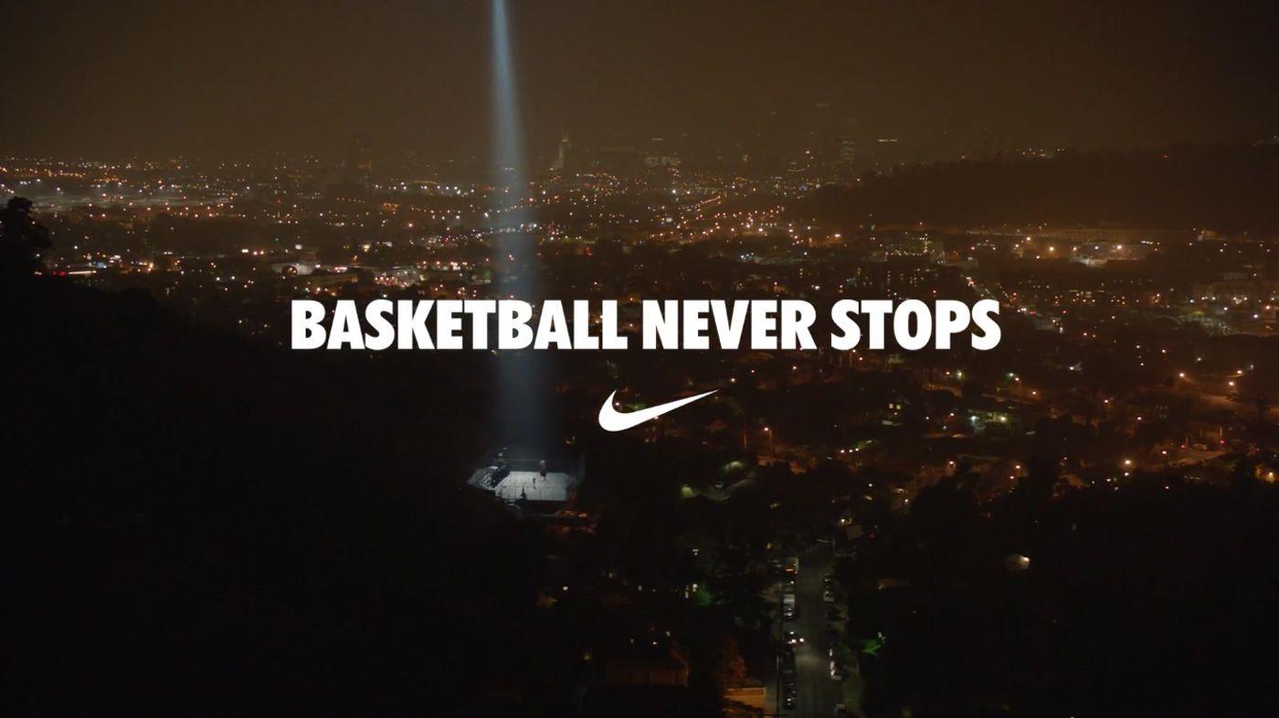 Nike Basketball Never Stops The Inspiration Room Nike Basketball Quotes Basketball Wallpaper Nike Basketball