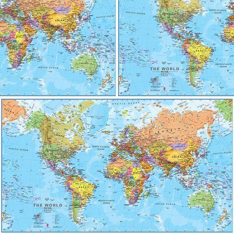 Rrrrpolitical world map postershoppreview maps pinterest map rrrrpolitical world map postershoppreview gumiabroncs Images
