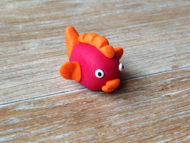 Poisson fimo kids clay and polymers - Tuto de pate fimo ...