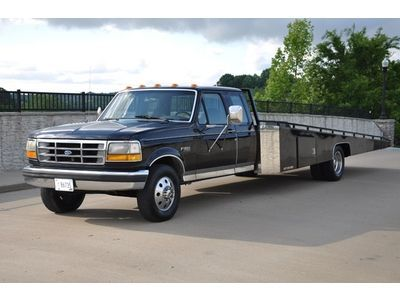 Ford F 350 Custom Car Hauler Ramp Truck Car Pictures Ramp Trucks