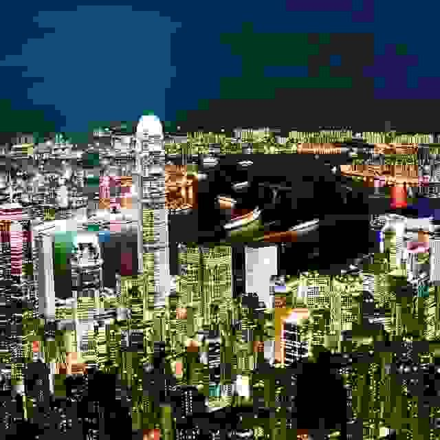 Favourite Nokia Background - Hong Kong at Night