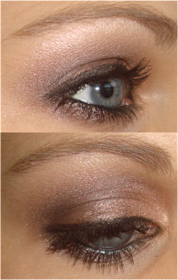 Brown Smoky Eye-pretty and not overdone.
