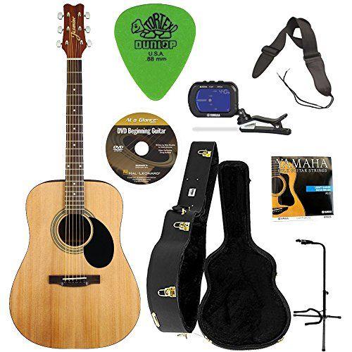 Jasmine S35 Acoustic Guitar Natural W Knox Hardshell G Guitar Acoustic Acoustic Guitar