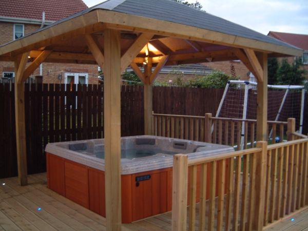 Hot Tub Design Ideas above ground hot tub home and garden design ideas Hot Tub Pergola Plans Hot Tub Pergola Plans Build Garden Structures In Your Backyard I Have Long Wanted To Know How To Build A Pergola In My Backyard I