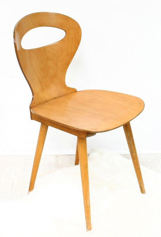 Chaise Baumann Annees 50 Chaises Baumann Chaise Vintage Chaise