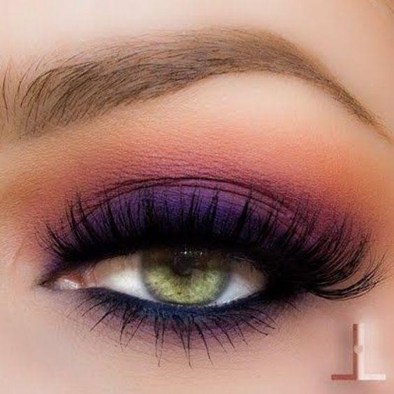 20 id es de make up pour les yeux verts les claireuses hair maquillage yeux verts makeup. Black Bedroom Furniture Sets. Home Design Ideas
