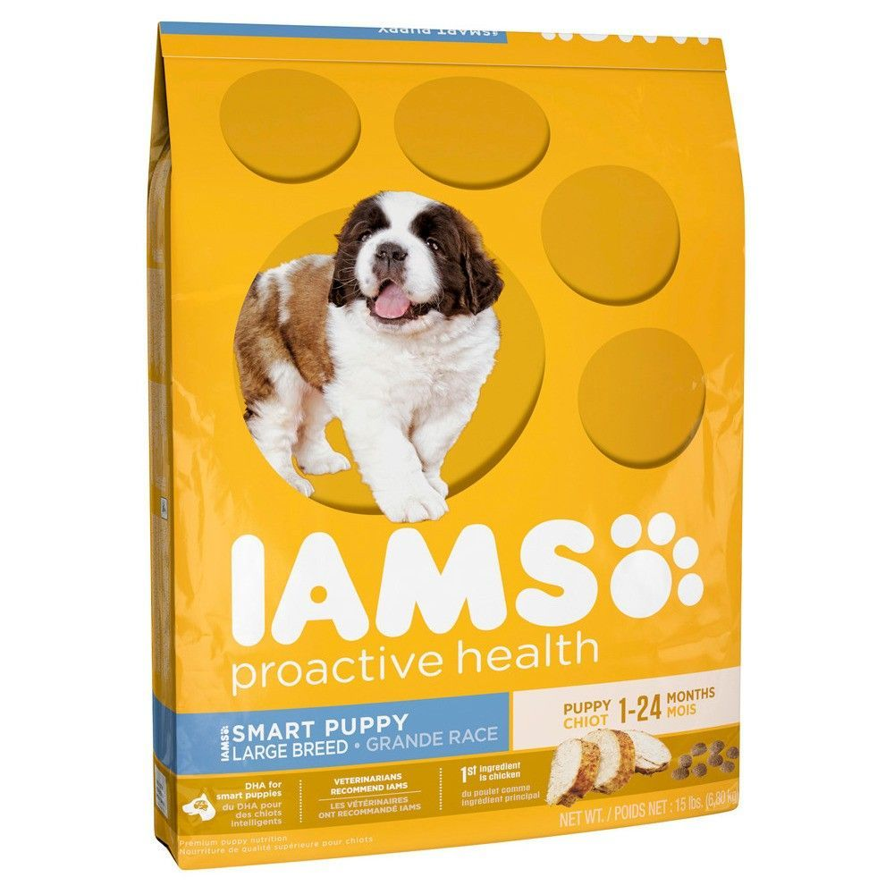 Iams Proactive Health Smart Puppy Large Breed Dry Dog Food 15lbs