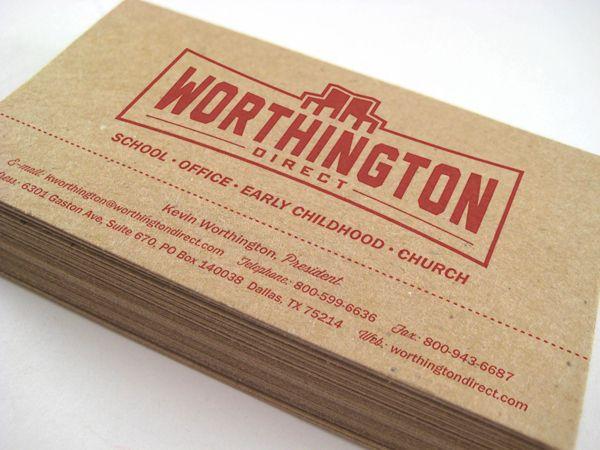 Worthington Direct Identity by Rob Go via Behance Branding