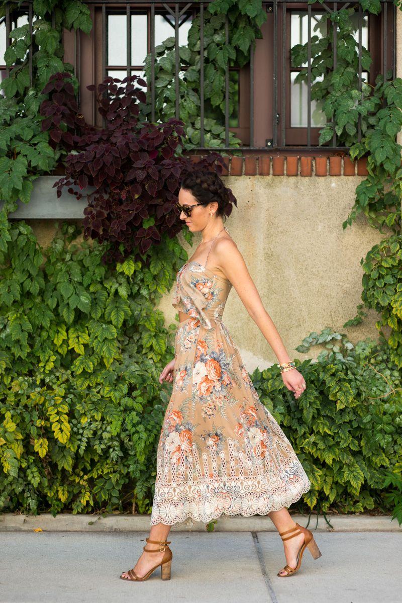 The Village Vogue - Zimmermann Vestido