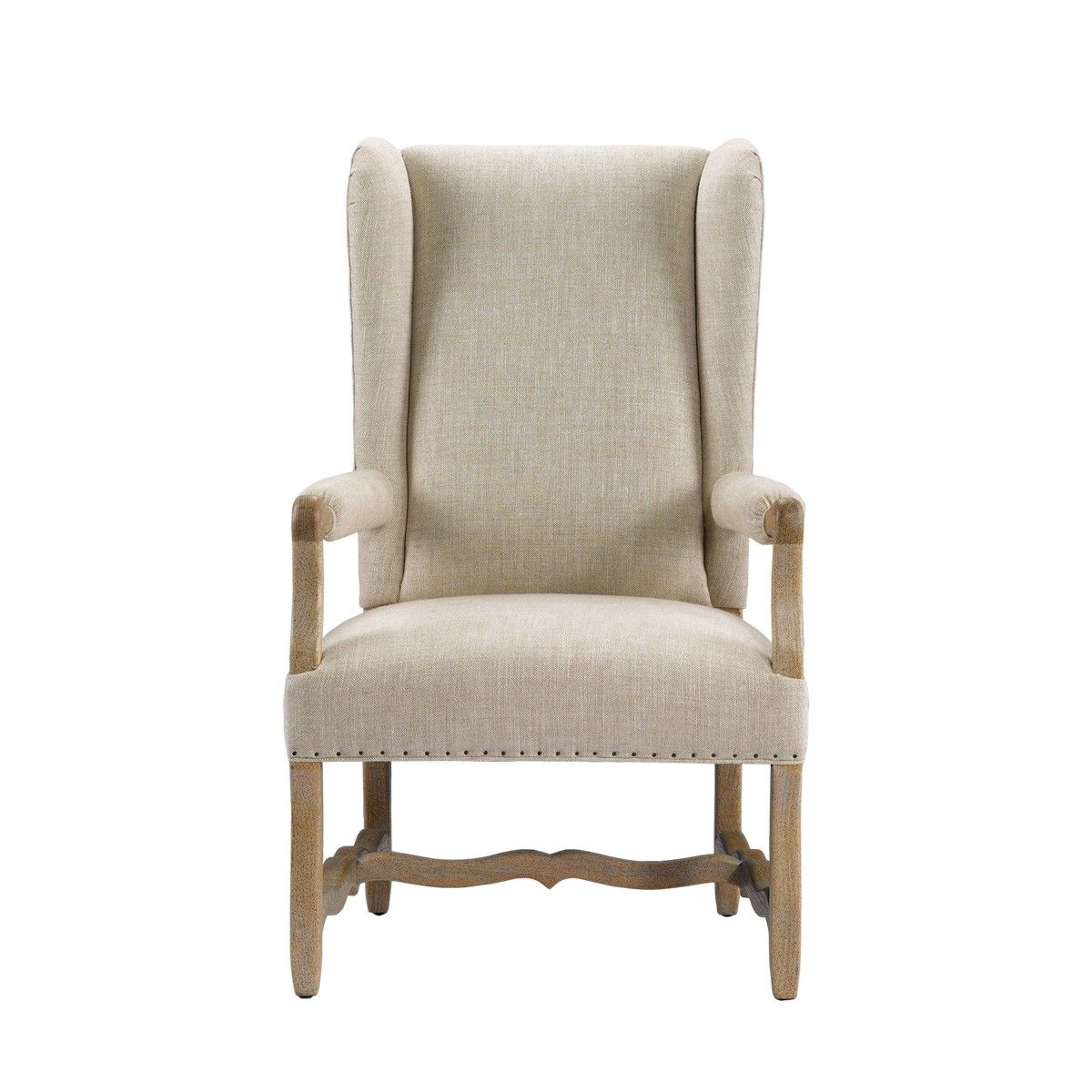 8826 1100 A015 Belgium Wing Wool Arm Chair W 27 5 D 30 5 H 47 5