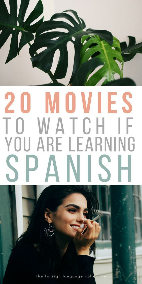 Are you learning Spanish? Then you might want to check out these 20 movies. #moviestowatch