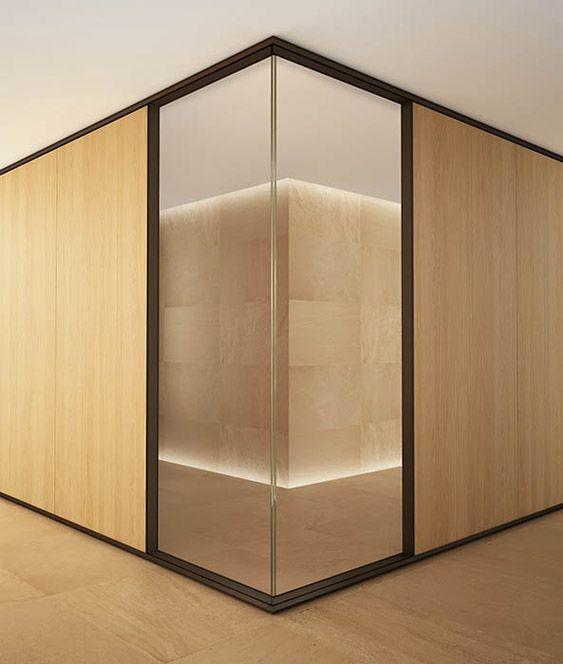 2019 evolvinwall ew1 vetro in leader arredo ufficio for Design d interni