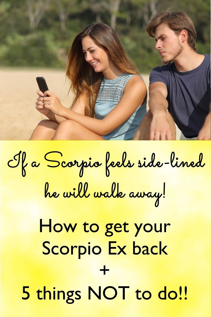 How to win a scorpio man back