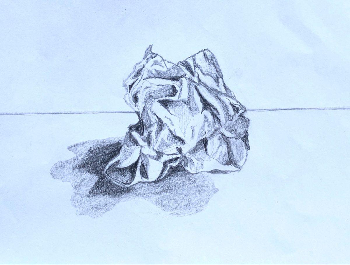 Bola De Papel Arrugado Abstract Artwork Art Artwork