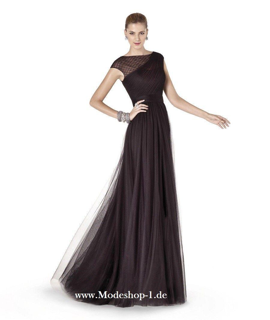 Schwarzes Abendkleid mit Tüll Online Bestellen ...