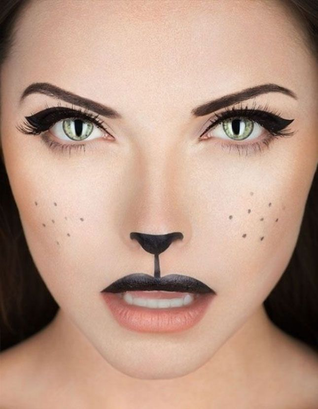 Httpbrithalloween makeup looksutmsourcefacebook halloween how to black cat makeup news modern salon and like omg get some yourself some pawtastic adorable cat shirts cat socks and other cat solutioingenieria Images