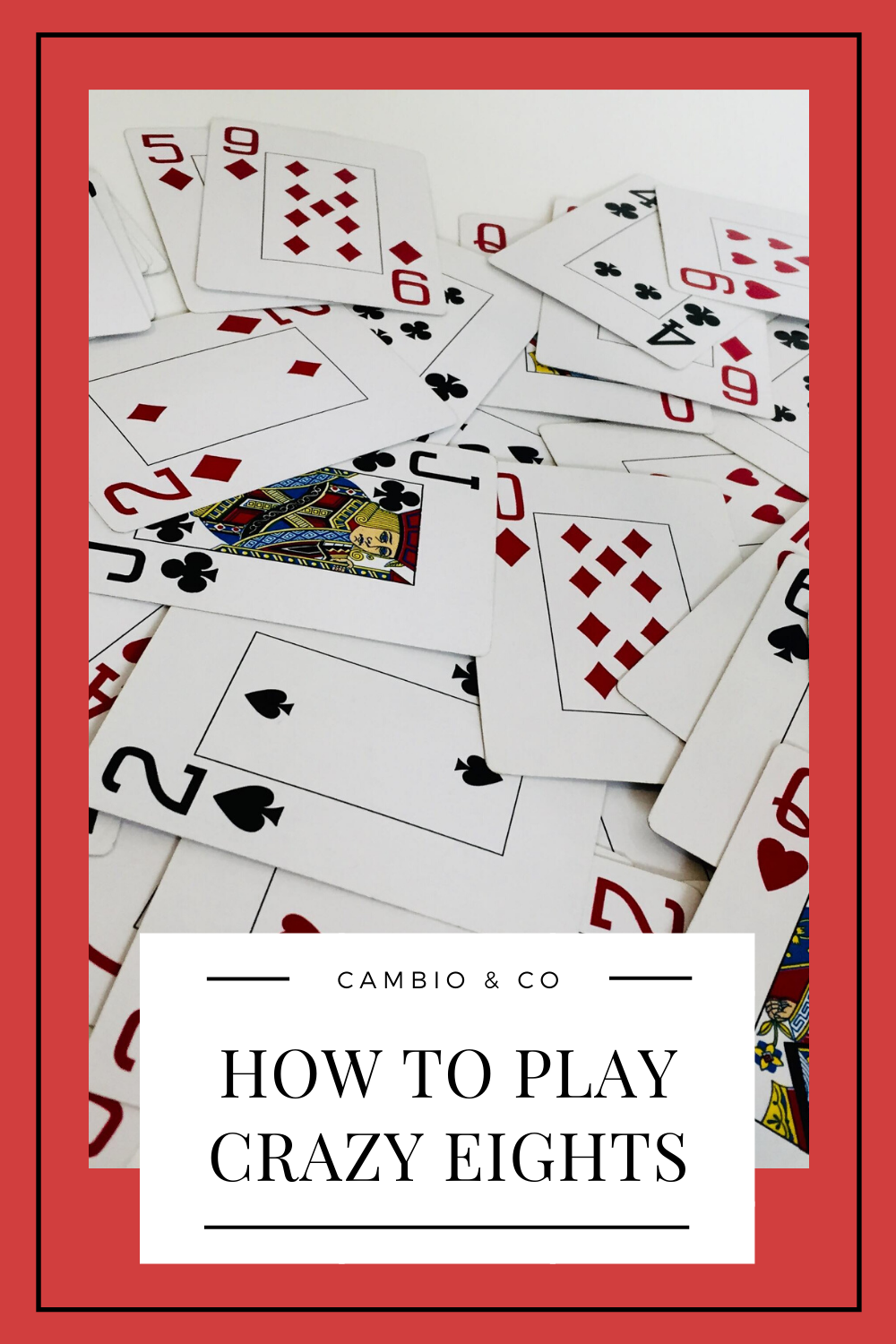 How to Play Crazy Eights in 2020 Classic card games