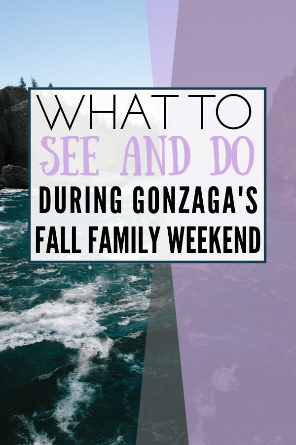 What to See and Do During Fall Family Weekend Fall event