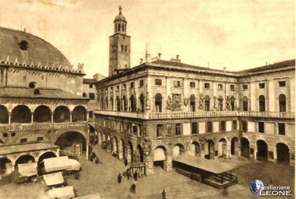 Padova, Piazza delle Erbe, 1934