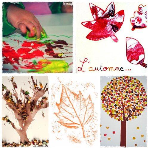 34 bricolages d 39 automne faire avec les enfants bricolage and kid activities. Black Bedroom Furniture Sets. Home Design Ideas