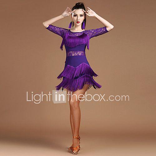 Devrions-nous des robes de danse en latin Femmes spandex dentelle épissure moitié manches royale - EUR €31.14 ! NOUVEAU Produit ! Produit récent à prix incroyablement bas en solde ! Consultez-le ainsi que d'autres articles identiques. Obtenez des réductions, gagnez des crédits et bien + à chaque commande !