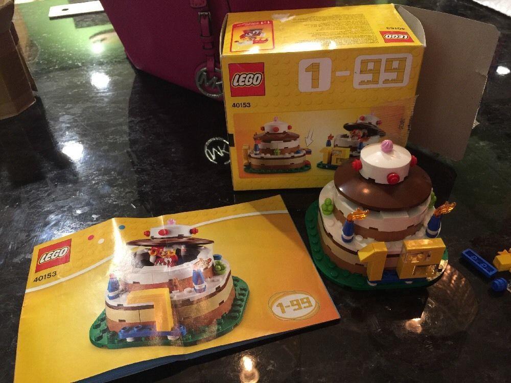 Lego Birthday Cake Jester Decoration