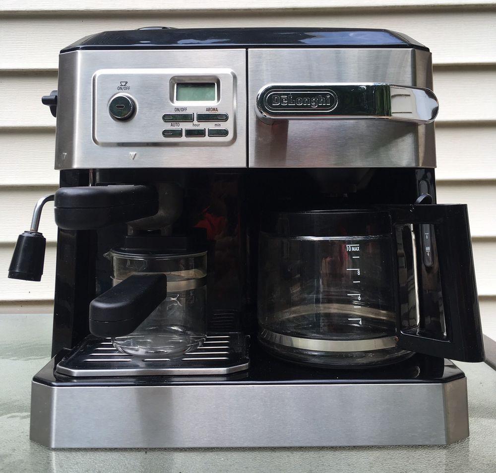 Delonghi espresso combination drip coffee and espresso