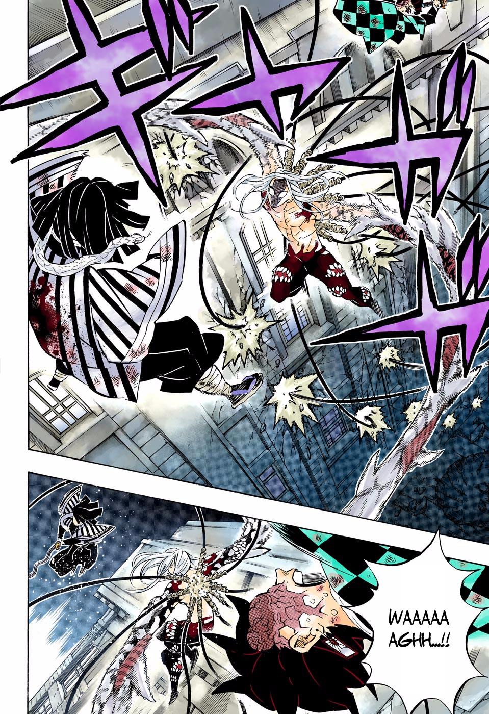 Kimetsu no Yaiba Digital Colored Comics Chapter 194 in