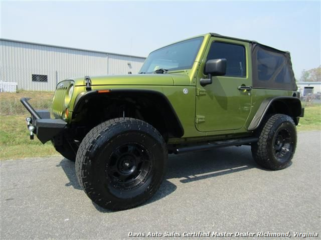 2007 jeep wrangler x sport lifted 4x4 2 door soft top off road for sale in richmond va www. Black Bedroom Furniture Sets. Home Design Ideas