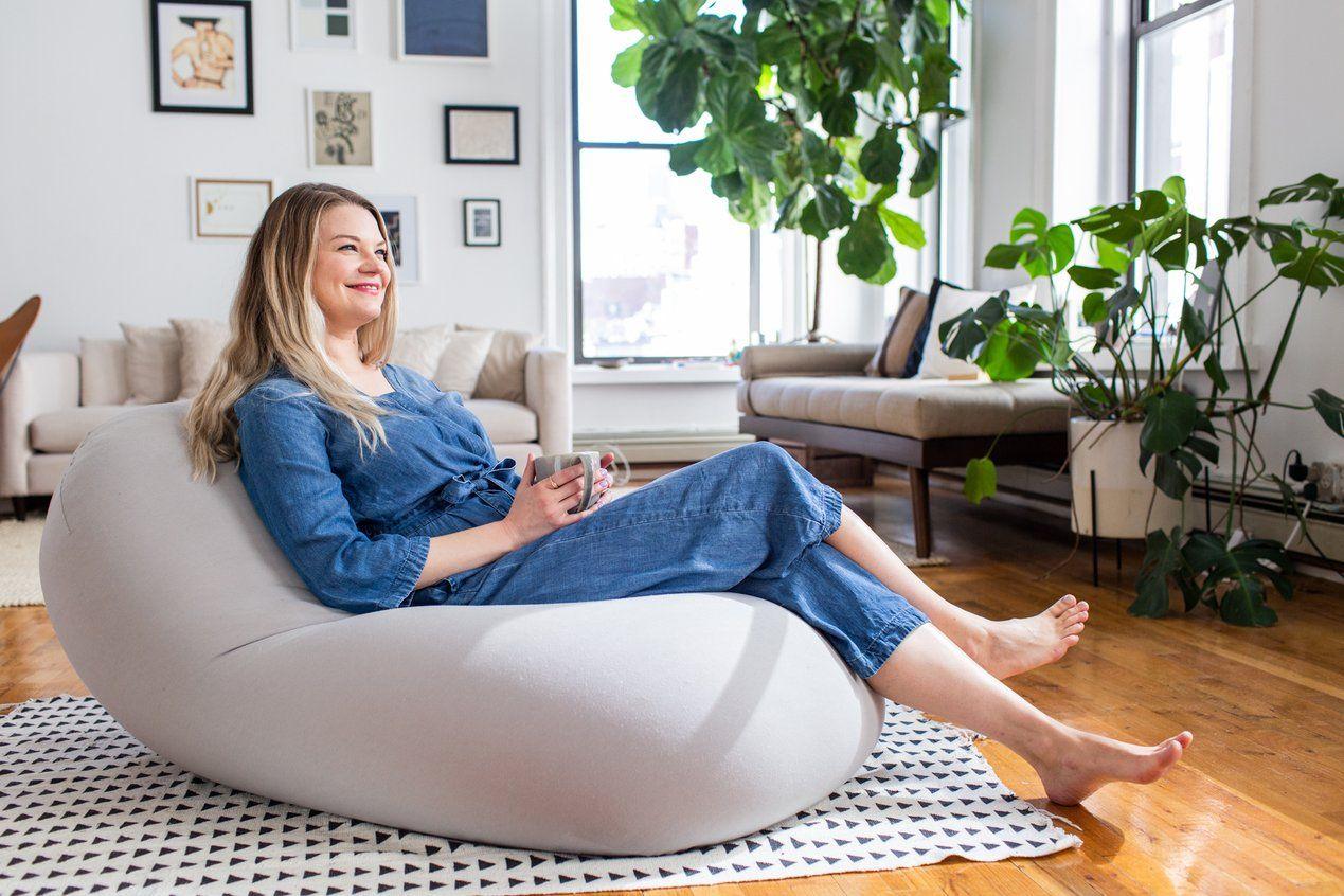Moon Pod Bean Bag Chair Bean Bag Comfortable Chair
