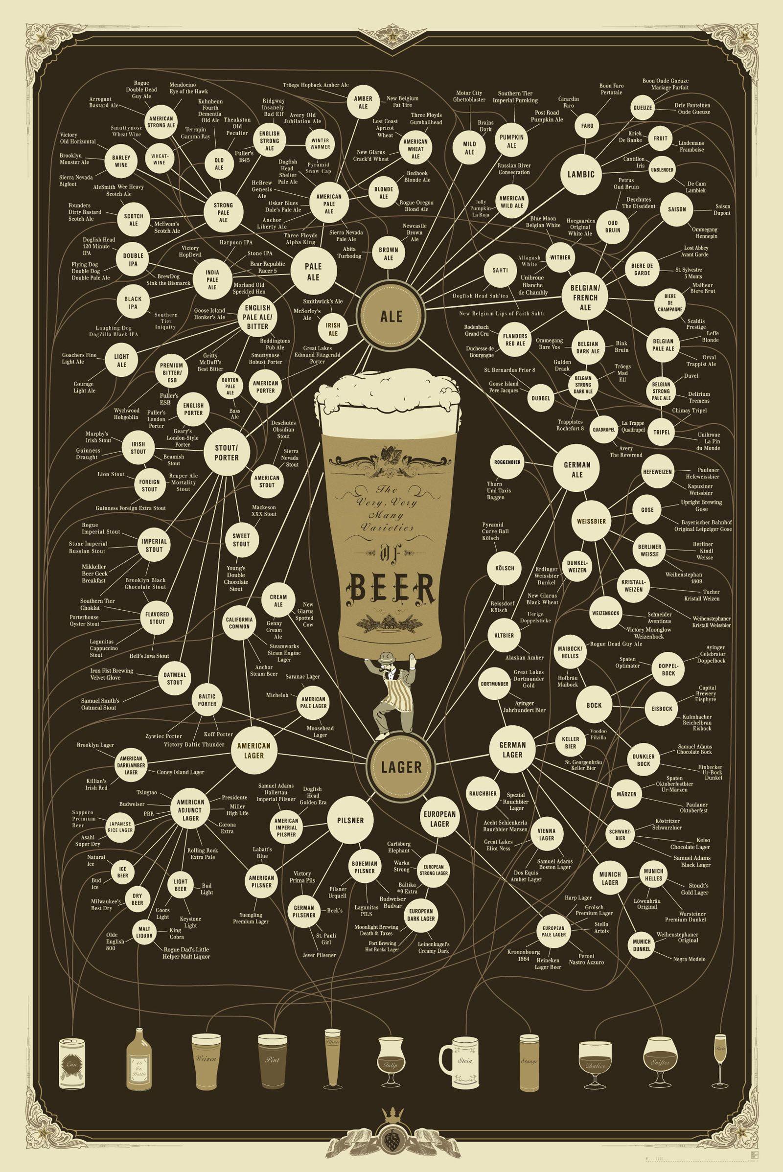 Il percorso delle birre....che bella esperienza ci aspetta!