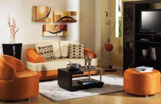 Decoraci n con tonos naranjas ideas para el hogar for Decoracion hogar naranja