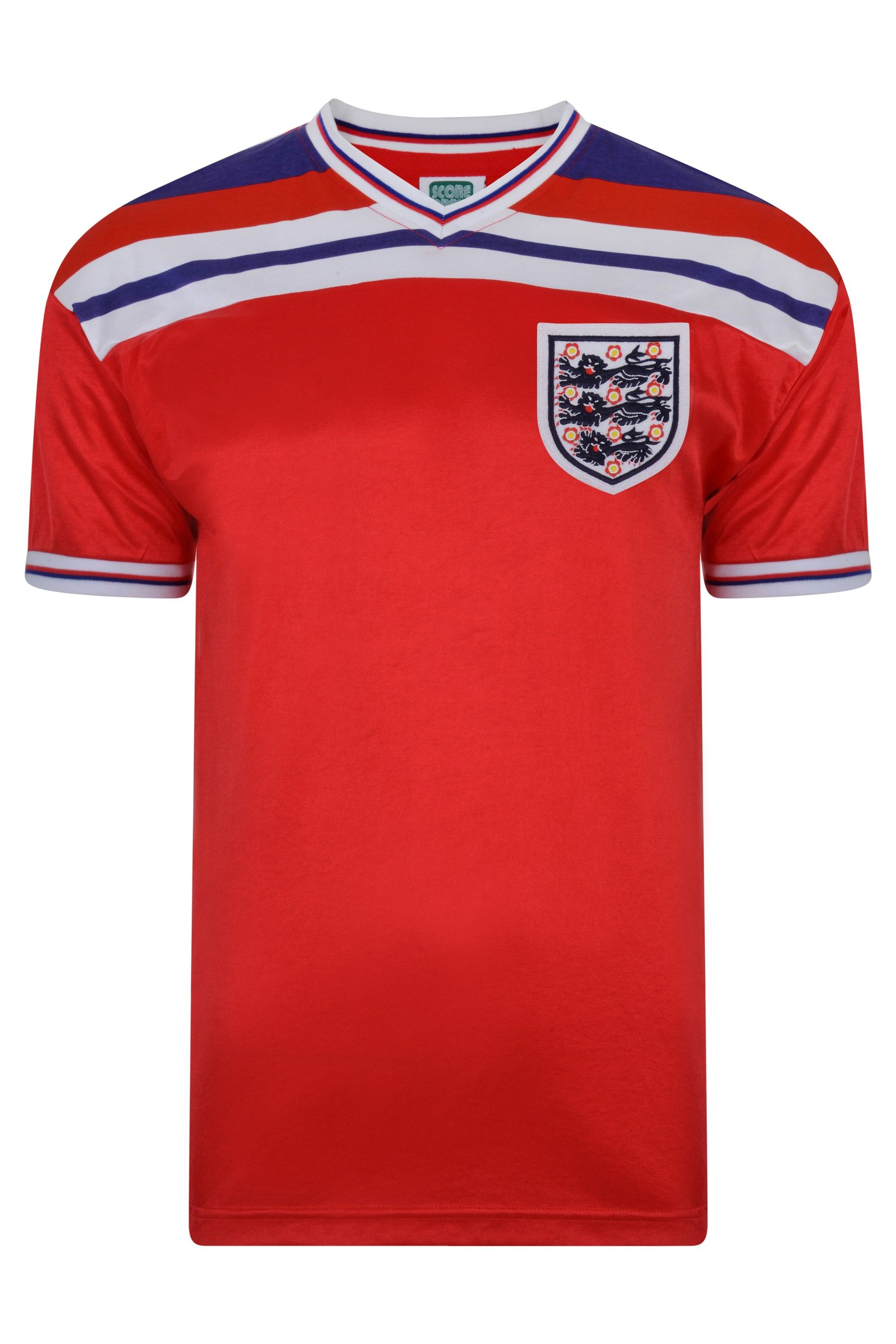 Buy Score Draw England 1982 World Cup Finals Retro Jersey Shirt From The Next Uk Online Shop 1982 World Cup World Cup Final World Cup