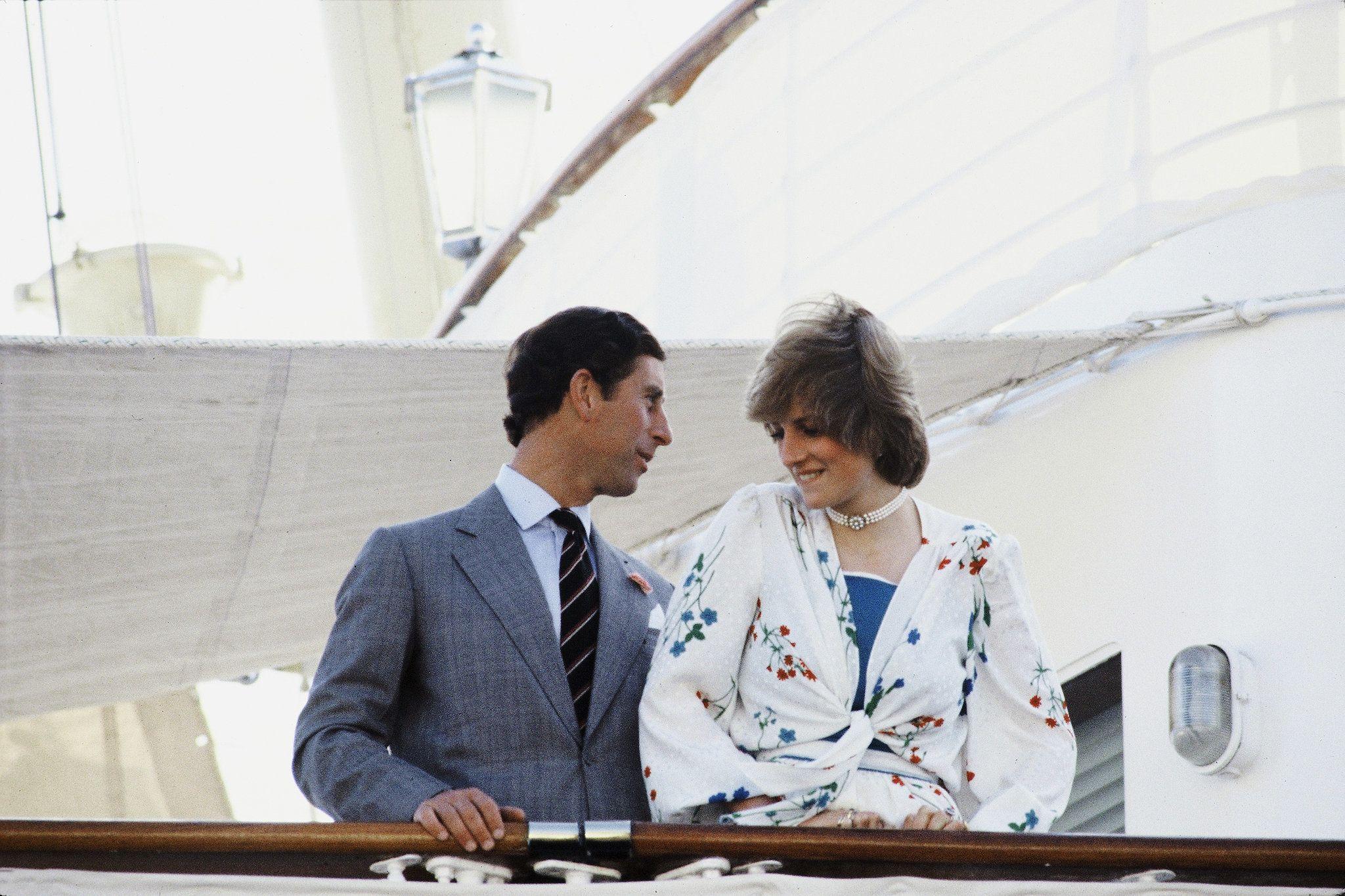 Charles and Diana took their honeymoon on Queen Elizabeth II's royal yacht, the Britannia.