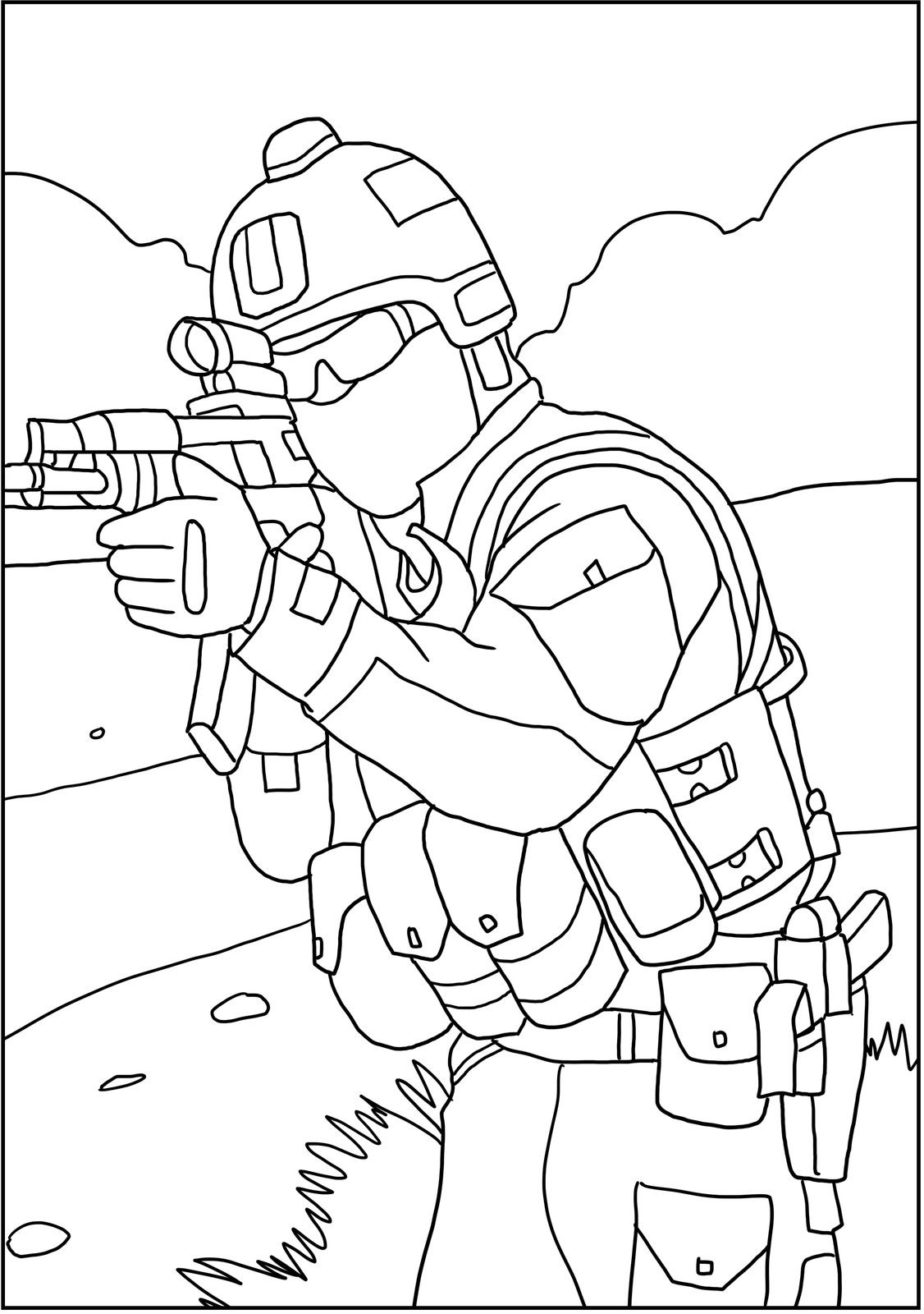 Patriotic Us Military Coloring Pages Coloring Books Military Drawings Grayscale Coloring Books