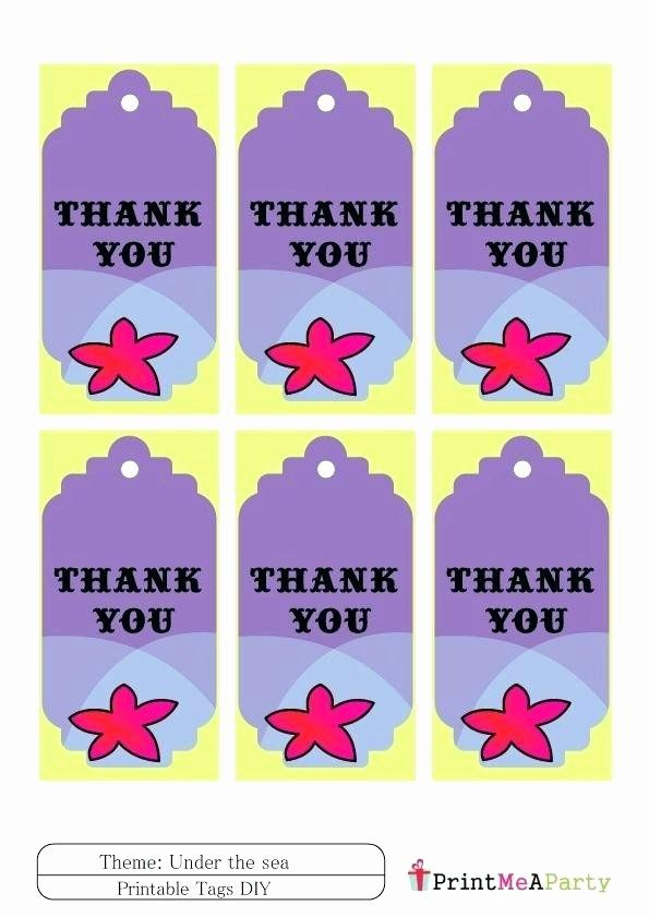 thank you labels template fresh happy birthday labels