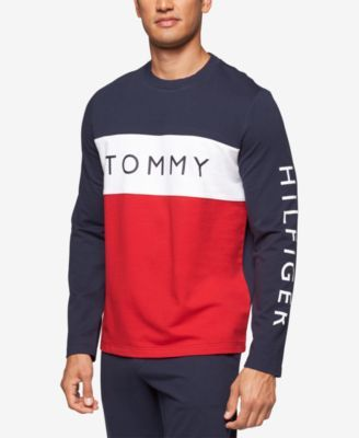 dc549eba0a1b TOMMY HILFIGER Tommy Hilfiger Men's Modern Essentials Cotton French Terry  Logo Sweatshirt. #tommyhilfiger #cloth #