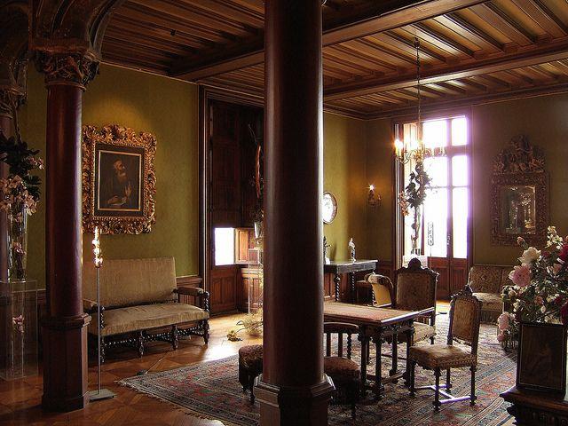 Chaumont loir et cher le ch teau grand salon for Le salon in french
